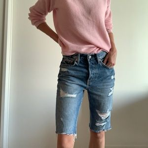 GRLFRND Denim Beverly Shorts
